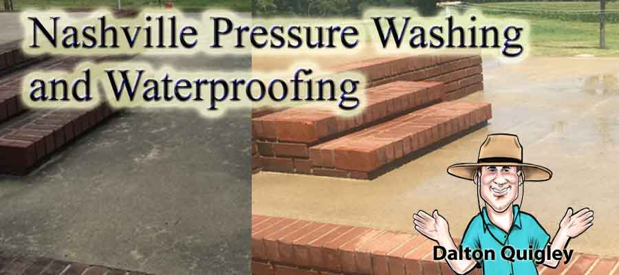 Nashville Pressure Washing and Waterproofing
